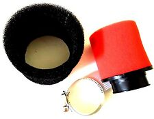 DOUBLE SPONGE FOAM AIR FILTER 42MM GY6 150CC MOPED SCOOTERS NEW