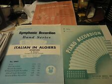 3 Pagani Solos For Accordion Italian in Algiers, Song, See You Again Waz 4 Music