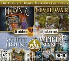 The Ultimate Hidden Mysteries Collection 4 Full Games PC SF-0033