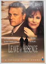 LEAVE OF ABSENCE / ORIGINAL VINTAGE VIDEO FILM POSTER / JAQUELINE BISSET 3