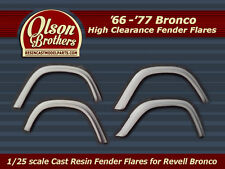 Olson Brothers Resin Fender Flares for new 1/25 Revell Ford Bronco