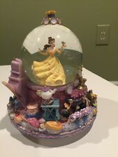 Beauty And The Beast Snow globe with Musical revolving base