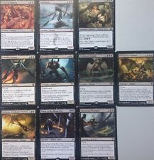 10 RARE BLACK DEMONS, Includes 1 Mythic Mtg Bulk Lot Magic