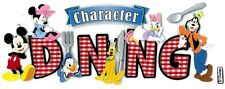 Jolee's DISNEY CHARACTER DINING Stickers MICKEY MINNIE DONALD DAISY GOOFY PLUTO