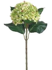 "22"" Artificial Hydrangea Spray Green (Pack of 6) Silk Flower Decor Wedding NEW"