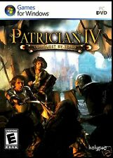 PATRICIAN IV: ( PATRICIAN 4 ) CONQUEST BY TRADE  -  BRAND NEW RETAIL  -WINDOWS 7