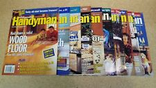 2000 The Family Handyman Magazines - Lot of 10 Issues, Complete Year, QUICK SHIP