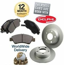 FOR VW GOLF 2.3 V5 170bhp 6/2001-1/2004 NEW REAR BRAKE DISCS SET & DISC PADS KIT