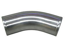"3.5"" OD Universal Aluminum Joiner Pipe 45 Degree, 3mm Thick Tube, 10"" in Length"