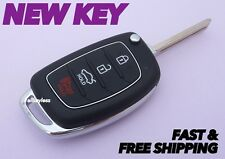 Original HYUNDAI SONATA keyless entry remote fob transmitter +NEW FLIP KEY BLADE