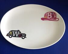 Royal Doulton Pop in for Drinks Oval Bone China Platter NEW BOXED TAGS MSRP $100