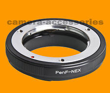 Olympus Pen F FT FV Lens to Sony NEX E-mount adapter ring for NEX-5 NEX-C3 VG10