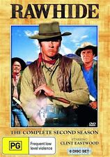 RAWHIDE - SEASON 2 - THE COMPLETE (CLINT EASTWOOD) (8 DVD SET) NEW!!! SEALED!!!