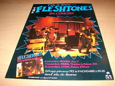 THE FLESHTONES - CONCERT!!!!!!!!!!!! PUBLICITE / ADVERT