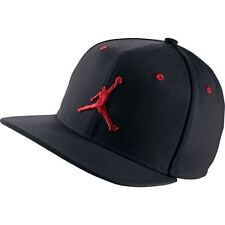 Nike Air Jordan Jumpman Snapback Hat Cap Black/Red 619360-016