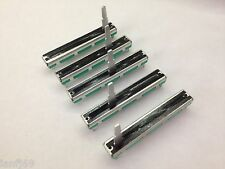 5 x Replacement MONO fader / slider for BEHRINGER 1204FX 1222FX 1622FX 1832FX