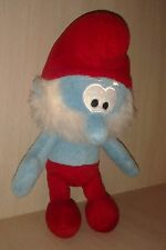 "Plush Papa Smurf 12"" age 3+, Boys & Girls"