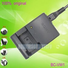 Genuine Original SONY BC-VW1 Charger for NP-FW50 Battery NEX-3C NEX-5C NEX-5...