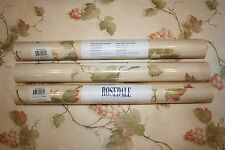 NEW Lot of 3 Double Rolls Rosedale Wallpaper #NK4584 Free Shipping