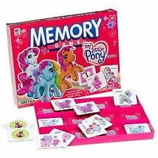 My Little Pony MLP Memory Game No reading + 4 Peach Surprise Tiger Lily Sets NEW