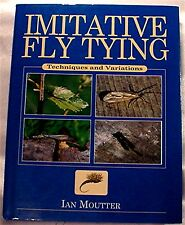 Used Imitative Fishing Fly Tying Book By Ian Moutter