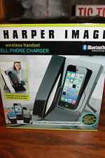 New Sharper Image Bluetooth Wireless Handset Cell Phone Charger iPhone, Samsung