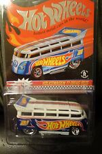 HOT WHEELS V.W. DRAG BUS T-1 REAL RIDERS REDLINE CLUB CHECK MY OTHER AUCTIONS