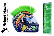 Helmet Hawks ™ Colorful Mohawk for Motorcycle Ski Snowboard Paintball Helmets