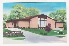 Independence MO.Geo.C.Carson Funeral Home,Winner Rd.at Fuller,Jackson Co.c.1940s