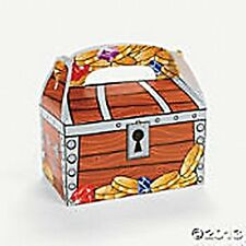 12 Pirate Treasure Chest Treat Boxes