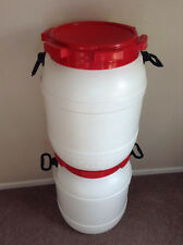 Two  Home Brewing Beer Fermenter 13 Gallons HDPE 2