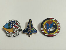 NASA Lapel Pins Fallen Hero's Apollo 1 Challenger Columbia 51-L,STS-107 Shuttle