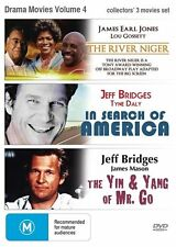 ●● RIVER NIGER / IN SEARCH OF AMERICA / YIN & YANG OF MR GO ●● (DVD, 2013) NEW
