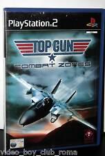 TOP GUN COMBAT ZONES GIOCO USATO SONY PS2 EDIZIONE ITA MANUALE MANCANTE 30324