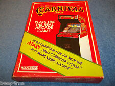 NEW ATARI 2600 CARNIVAL GAME IN FACTORY SEALED BOX 7800 SEGA COLECO