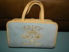 Womens Juicy Couture State of Mind Travel Cosmetic Make Up Bag