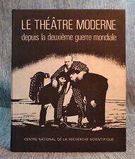 le theatre moderne II depuis la deuxieme guerre mondiale / Jacquat Paris 1967