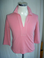 LADIES TOMMY HILFIGER SIZE XL LONG SLEEVED CASUAL TOP BNWT PINK 3/4 SLEEVE NEW