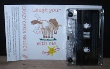 CRAZY CAROL NELSON Laugh My *ss Off comedy 1994 cassette tape Sarasota