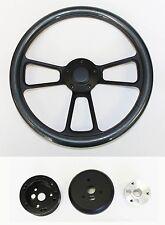 """68 69 Charger Dart Coronet Carbon Fiber on Black Steering Wheel 14"""""""