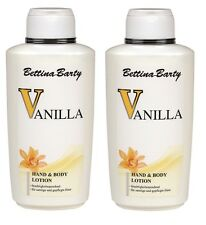 Bettina Barty Vanilla Hand and Body Lotion 2x 500 ml