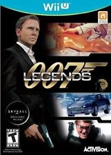 007 Legends (Nintendo Wii U James Bond BONUS Skyfall Levels Daniel Craig) NEW