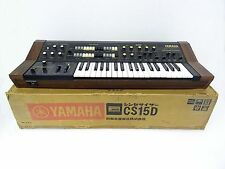 YAMAHA CS-15D Vintage Analog Synthesizer w/ Original Box CS15 D RARE cs20m cs40