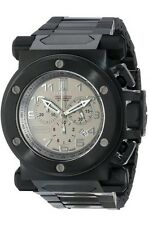 New Men's Invicta 14513 Jason Taylor Swiss Chronograph Titanium Dial Steel Watch