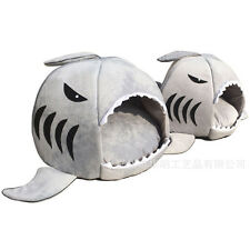 Shark Sponge Nest House Comfortable Pet Washable Bed for Cat /Dog Puppy Kennel S