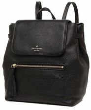 NWT KATE SPADE KACY CHESTER STREET LEATHER BACKPACK BLACK
