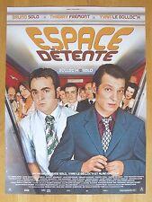 AFFICHE - ESPACE DETENTE - BRUNO SOLO, YVAN LE BOLLOC'H, THIERRY FREMONT