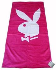 Playboy Classic Hot Pink Printed Beach Bath Towel 150x75cm - Free 1st Class Post