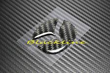 For Mazda 2 3 5 6 Carbon Fiber BLK Steering Wheel Emblem Filler Decal 50mm Large