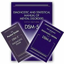 4DAYS FAST DELIVERY - BUNDLE SOFTCOVER DSM-5, 5e + Pocket Guide + Desk Reference